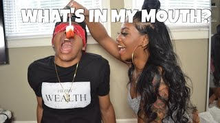 WHAT'S IN MY MOUTH CHALLENGE