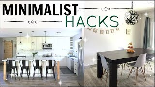 🍃SIMPLIFY Your Life 2020! 💰10 Frugal Minimalist Living / Life HACKS 🏡SAVING Money and Minimalism