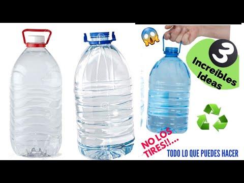 3 Increíbles Ideas Útiles para el Hogar Reutilizando GARRAFAS DE AGUA| Ideas With PLASTIC BOTTLES ♻️