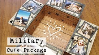 Military Care Package | Pet Themed :)