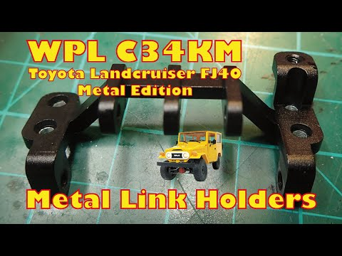 Metal Link Holders for WPL C34 - Perfect Upgrade!