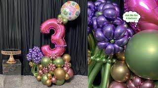 Balloon Bouquet No Glue