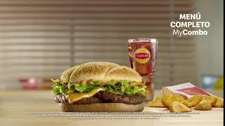 McDonald My Combo por solo 4,95€ anuncio
