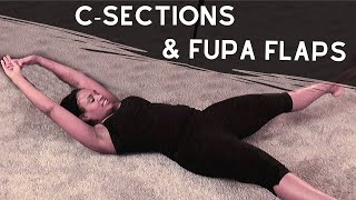 Ab Workout for C-Section Moms & Fupa Flaps
