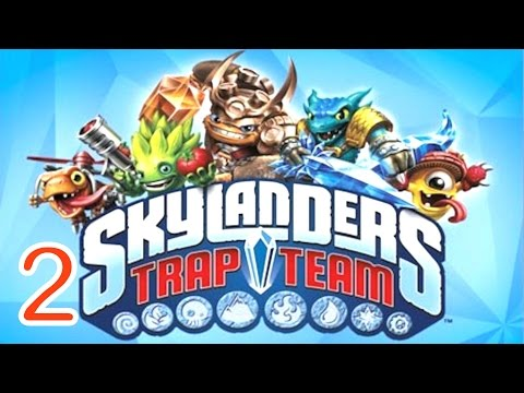 Skylanders: Trap Team - Dark Edition  walkthrough Part 2 - (PS4)