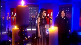 Johnathan and Charlotte -  Vero Amore - Elton John's Your Song - 8th Nov (This Morning)