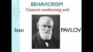 Behaviorism classical conditioning
