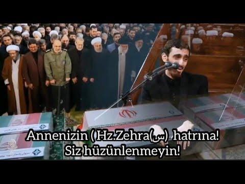 Rehber hüzünlenirse.. (Türkçe alt yazılı) Mehdi Resuli / Eyyami Fatime (س) 🏴 / Tahran / 2020