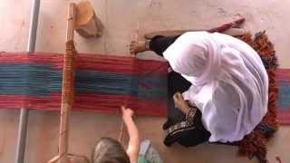 preview picture of video 'Lakiya Negev Weaving'