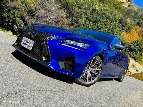 2016 Lexus GS F TECH REVIEW (1 of 2)