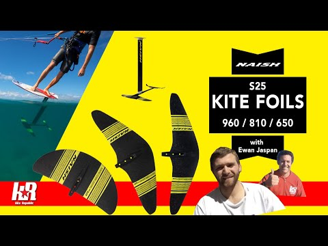 Naish S25 / 2021 Kite Foil 960 / 810 / 650 with Ewan Jaspan