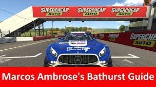 Marcos Ambrose's Bathurst Track Guide Mercedes GT3