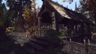 Review mods Skyrim/Обзор модов Скайрим.(Mod-Riverwood reborne)