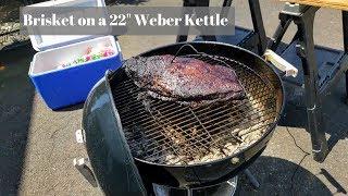 Beef Brisket on a Weber Kettle