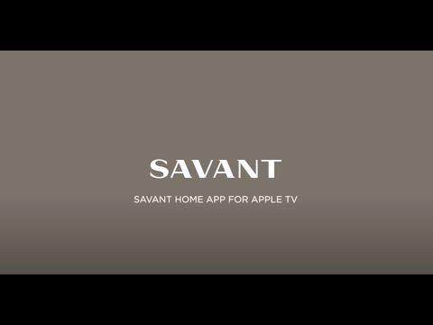 Savant Home App for Apple TV