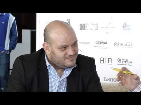 Entrevista a Francisco Navarro en el #DPECV2014