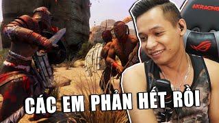 (Mixigaming Conan Exiles) Ngày các em tạo phản và món quà siêu to khổng lồ dành cho Quang.
