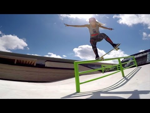 GoPro: Leticia Bufoni & Curren Caples Skate Street Course Spotlight - X Games Austin 2015