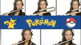 Pokemon Theme Song on Flute + Sheet Music!