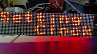 Arduino based clock using 16x32 RGB LED matrix - Самые лучшие видео
