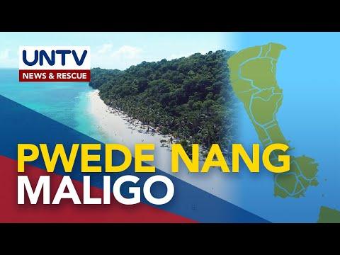 [UNTV]  Paliligo sa Boracay, pinayagan na ng lokal na pamahalaan