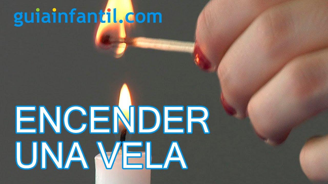 Cómo encender una vela a distancia - Experimentos con fuego