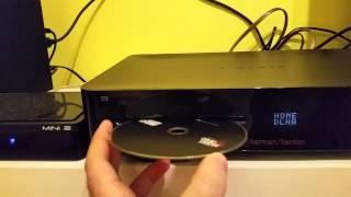 Harman Kardon BDS877 disk loading problem after a