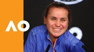 "Sofia Kenin: ""I'm on cloud nine right now!"" | Australian Open 2020 Final Press Conference"