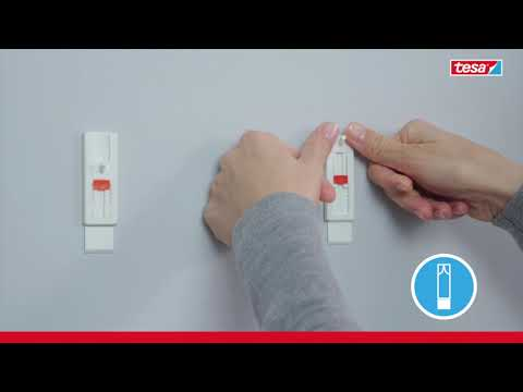 tesa® Verstellbarer Klebenagel für Tapeten und Putz (1kg)