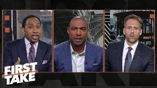 Will Eagles run away with NFC East? Is Eli Manning 'cooked?' | First Take | ESPN