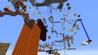 Миллион прыжков. Прохождения паркур карты в майнкрафт #3