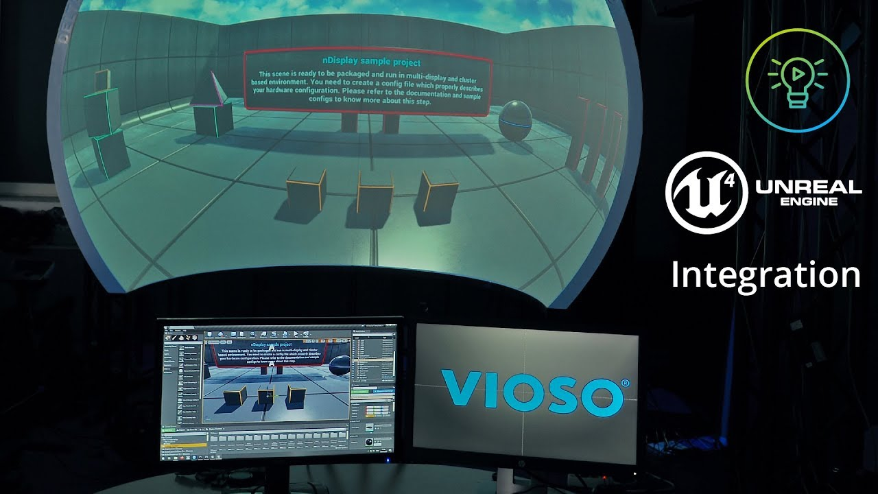 VIOSO Tutorial:  Unreal Engine Integration - Multi-Cluster 3D Projection Mapping