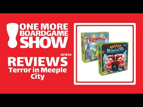 One More Board Game Show Reviews Terror In Meeple City