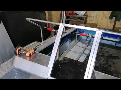 Как сделать стекло для лодки своими руками Тюнинг Прогресса 4!