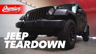 Too Much Disassembly For A Wrap? | Jeep Wrangler JK