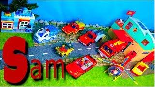 Lego Duplo, Policestation, Helicopter, Fire Truck, Firefighter Sam Unboxing Movie, Diy For Kids KiDo