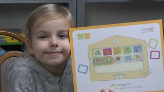 Lernspiel für Kinder: Clever Pairs (Alleovs) - 3 bis 6 Jahre - ideal für jedes Alter?