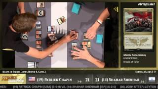 World Championship 2014 Round 8 (Draft): Patrick Chapin vs. Shahar Shenhar