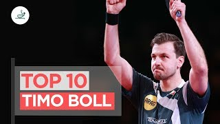 Timo Boll | Top 10 Shots | Table Tennis Legend