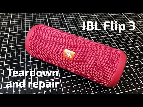 JBL CHARGE 3: How To Disassemble Fabric, EASY AND FAST WAY