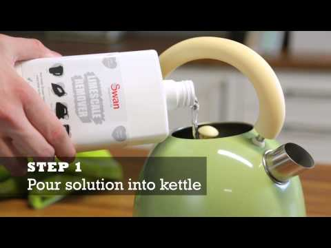 How to Descale your Kettle