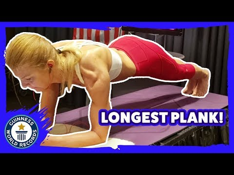 Longest Plank World Record Attempt