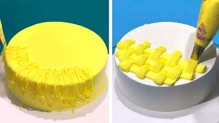 10+ Creative Cake Decorating Ideas For Everyone | Most Satisfying Chocolate Cake | Cake Art Design