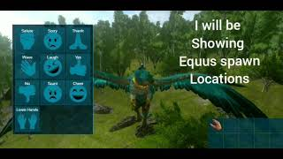 Ark Mobile | S02 EP18 | EQUUS Spawn Locations/EASILY Find them