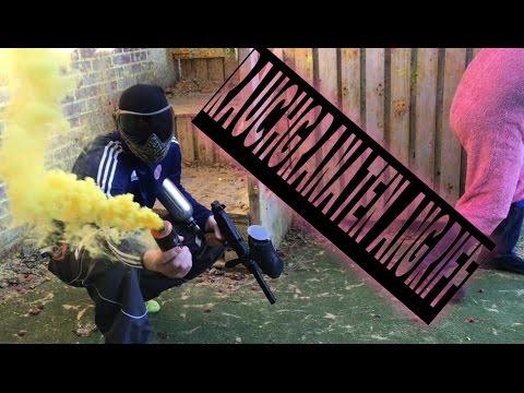 Rauchgranaten Angriff bei World of Paintball