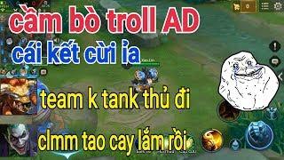 Troll Game - Bò Trêu AD Dở Khóc Dở Cười Quá Hài Hước | Yo Game