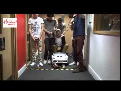 One Direction Race Cars