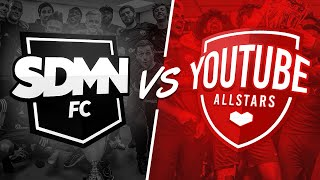 SIDEMEN FC VS YOUTUBE ALLSTARS CHARITY MATCH 2018 LIVESTREAM