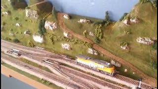 Union Pacific HO Scale Switching Layout Operating Session