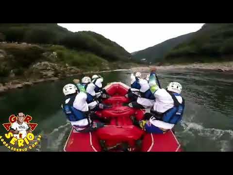 Equipe do Rio Abaixo faz seu primeiro treino no Japão
